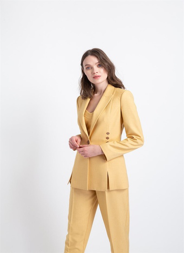 Rue Ceket Sarı